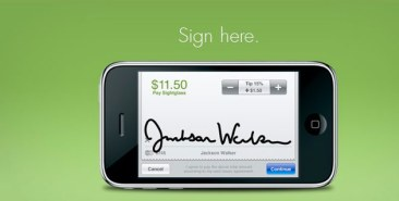 signature on phone