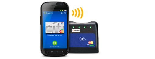 Google, MasterCard, VeriFone, First Data, Citi, Sprint, Bloomingdales, and many others teamed up today.